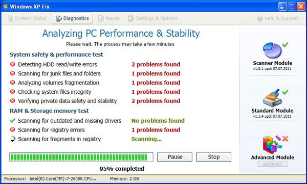 how to fix a disk read error occurred windows xp