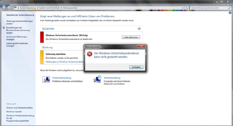 windows kann nicht gestartet werden