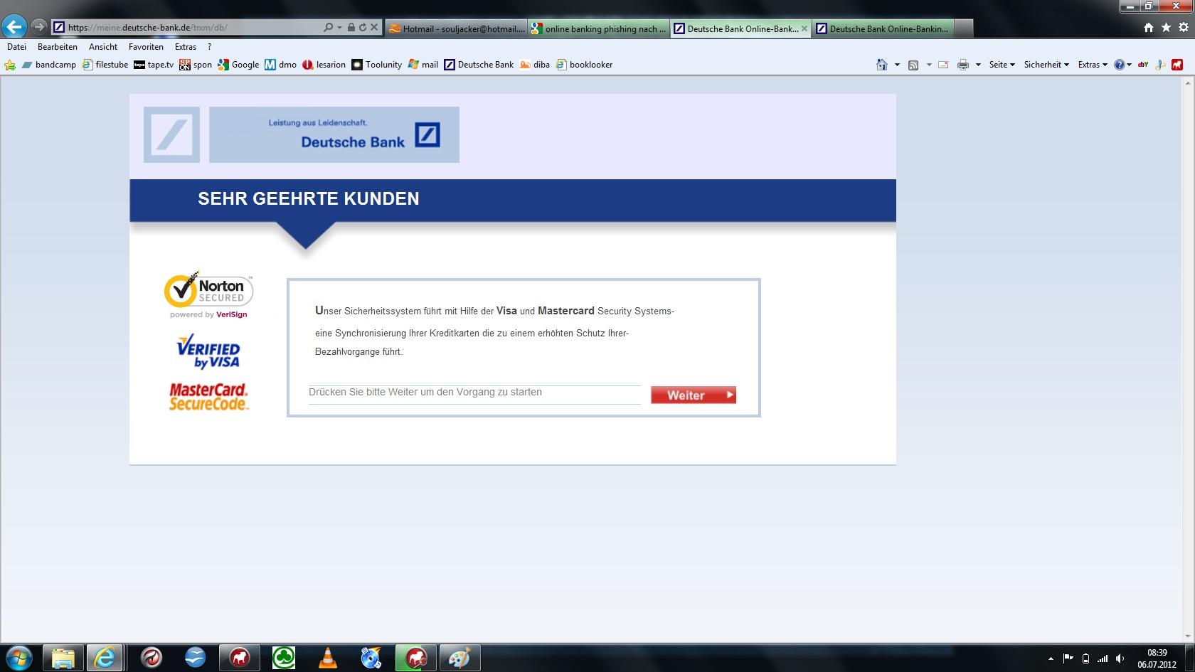 Jsexploitjsagentak Online Banking Deutsche Bank Trojaner