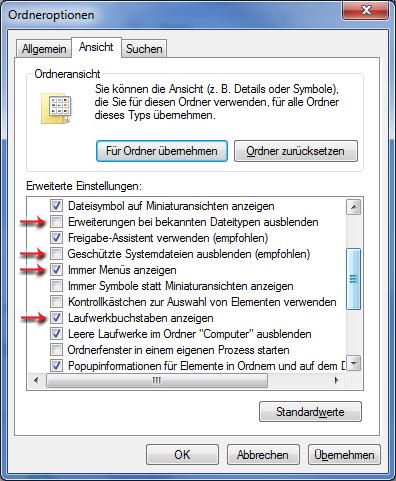 computer daten anzeigen