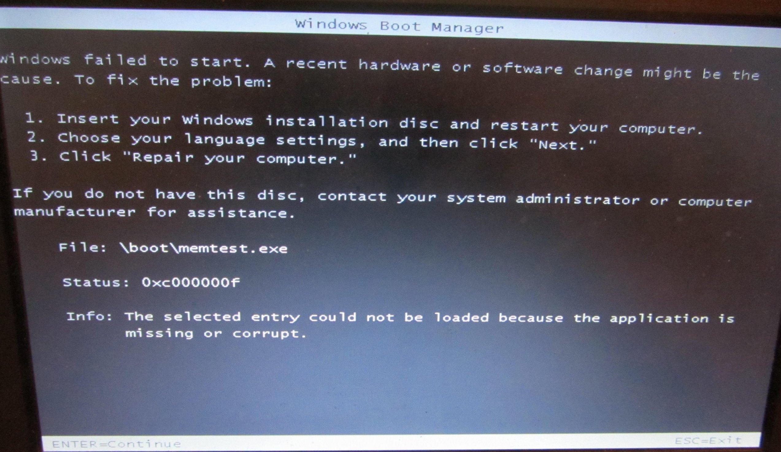 Windows 7 Neuinstallation