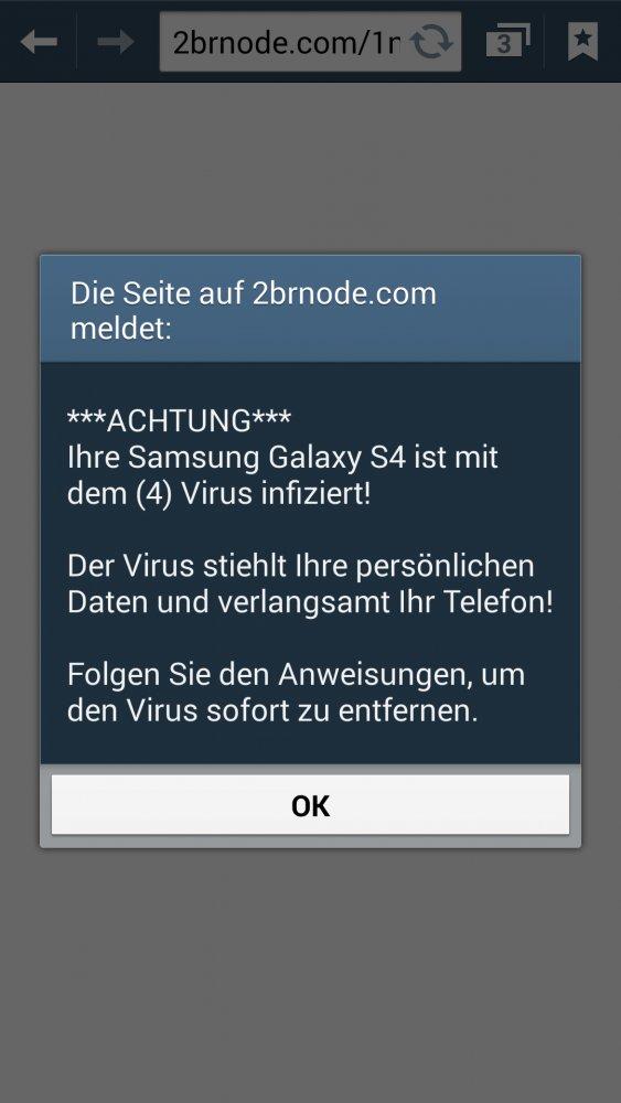 handy virus uhr